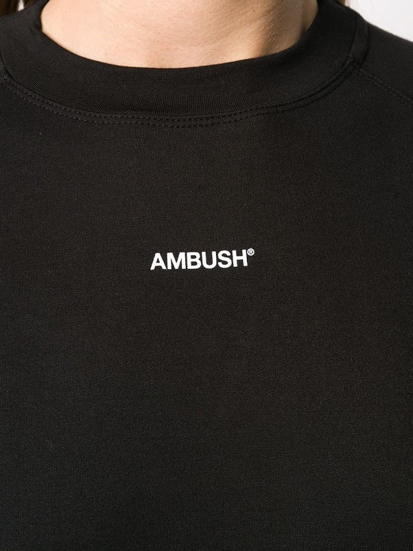AMBUSH WOMEN BOX CROPPED T-SHIRT