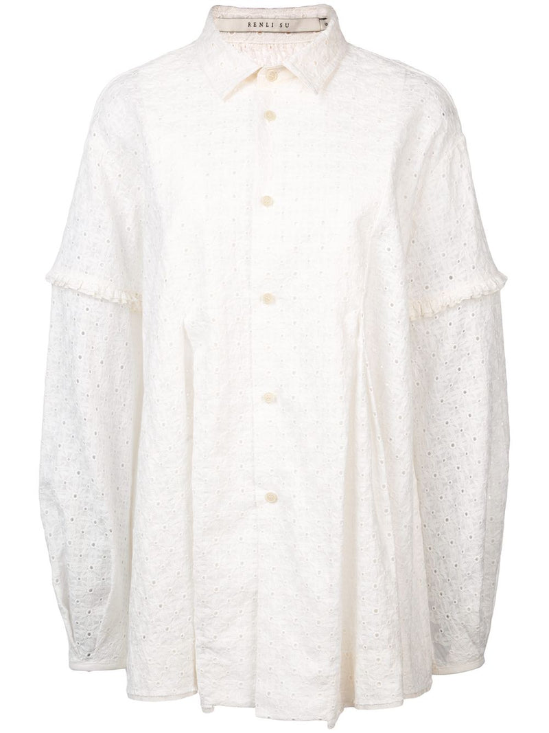 RENLI SU WOMEN BUTTON DOWN SHIRT