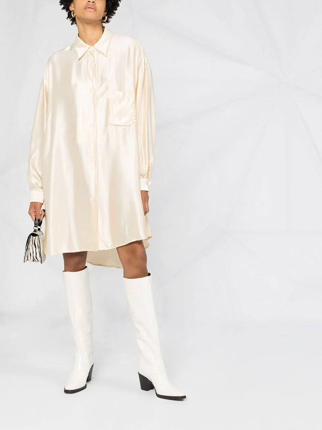 MM6 WOMEN OVERSIZED SHIRT DRESS