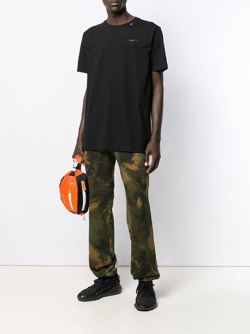 OFF-WHITE MEN BACKBONE S/S SLIM TEE