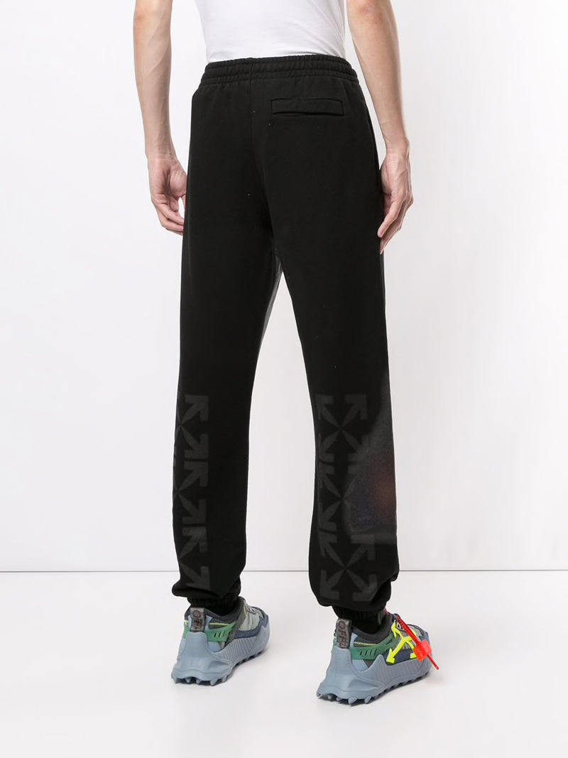 OFF-WHITE MEN BLURRED MONALISA SLIM SWEATPANT