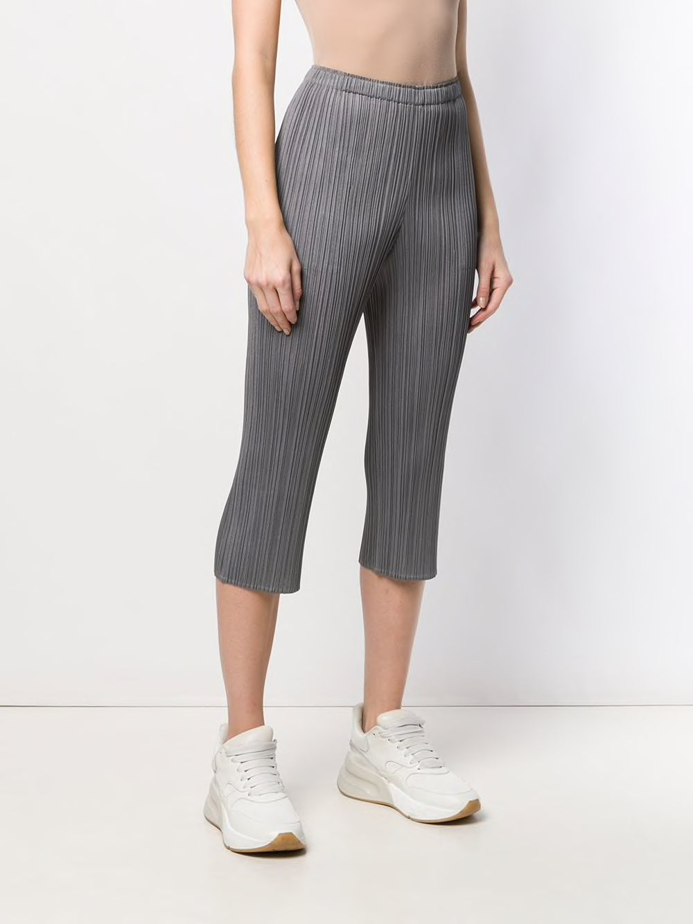 PLEATS PLEASE ISSEY MIYAKE WOMEN PLEATED SLIP PANTS