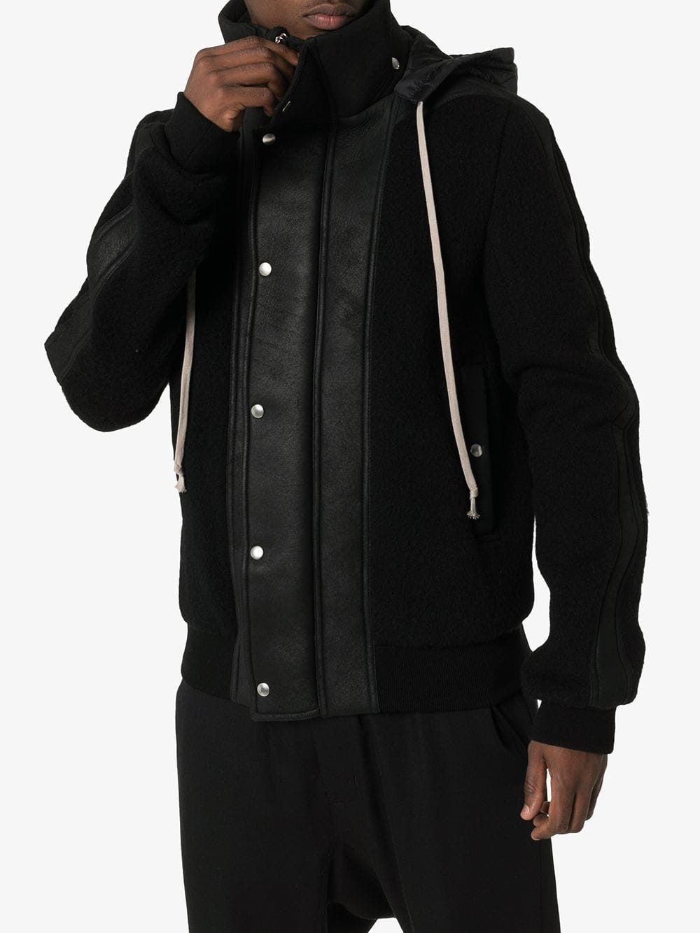 RICK OWENS MEN DUSTULATOR JACKET