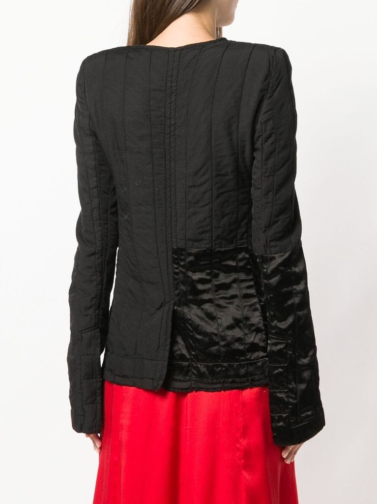 HAIDER ACKERMANN WOMEN QUILTED CONTRAST JACKET 184-5004-150-096