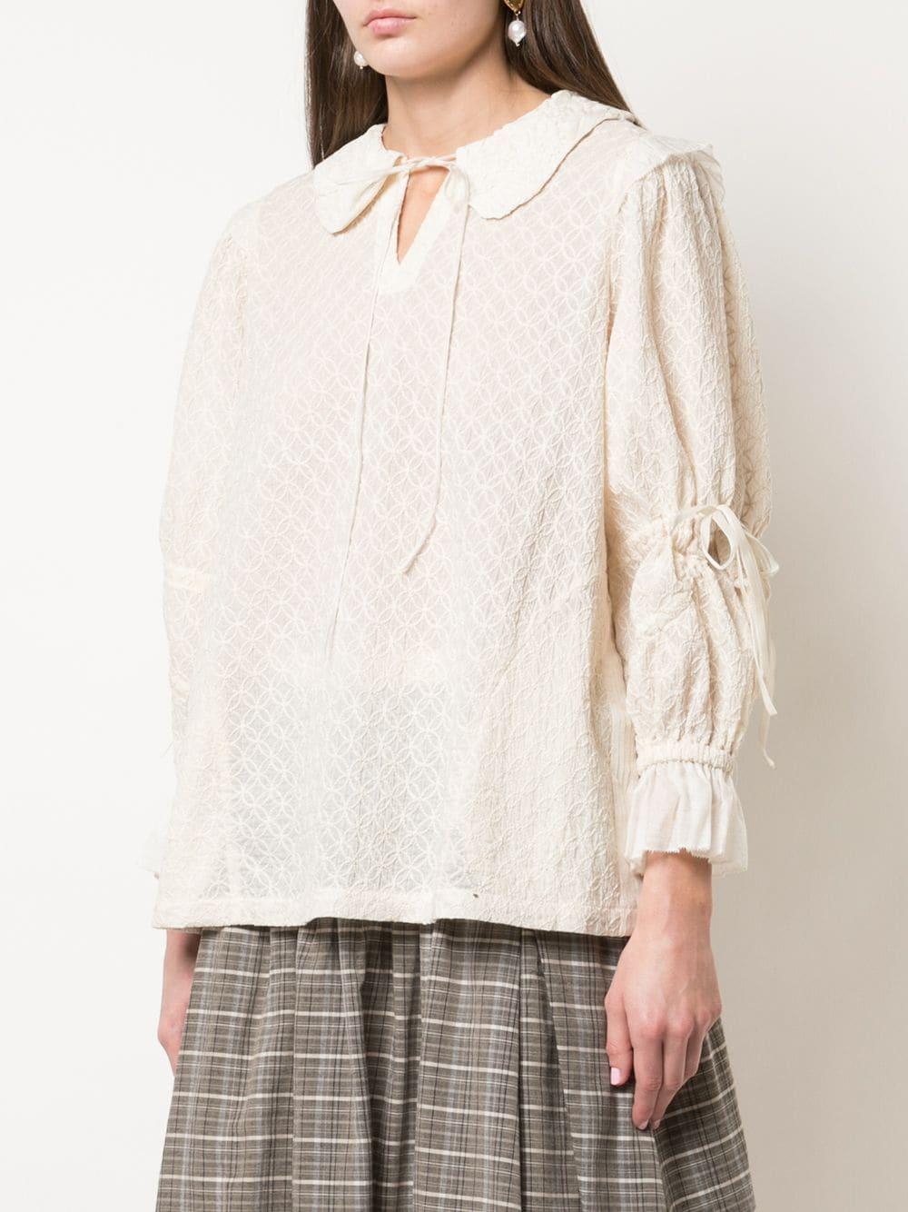 RENLI SU WOMEN EMBRIODERED BLOUSE