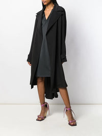 RICK OWENS WOMEN TRENCH COAT