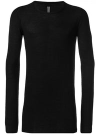 RICK OWENS MEN ROUND NECK SWEATER