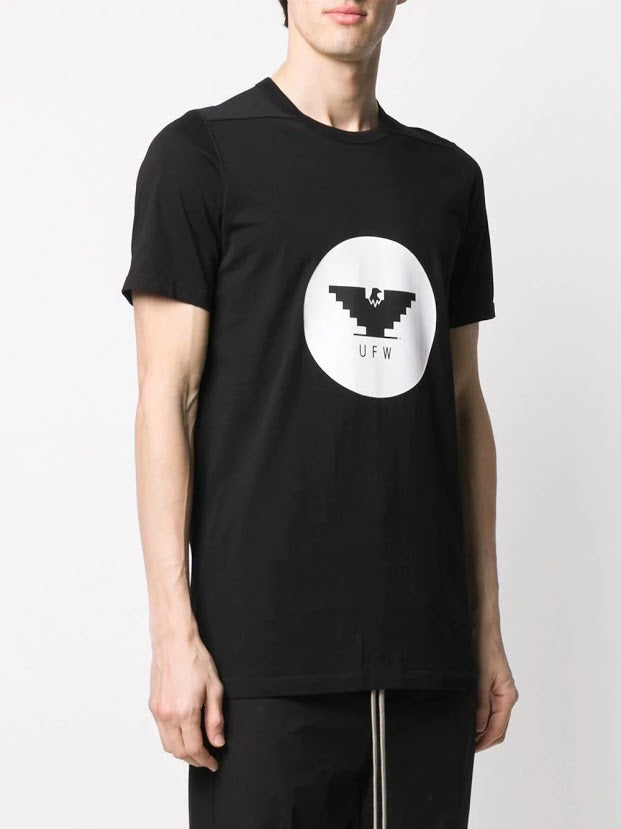 RICK OWENS MEN UFW PRINT LEVEL TEE