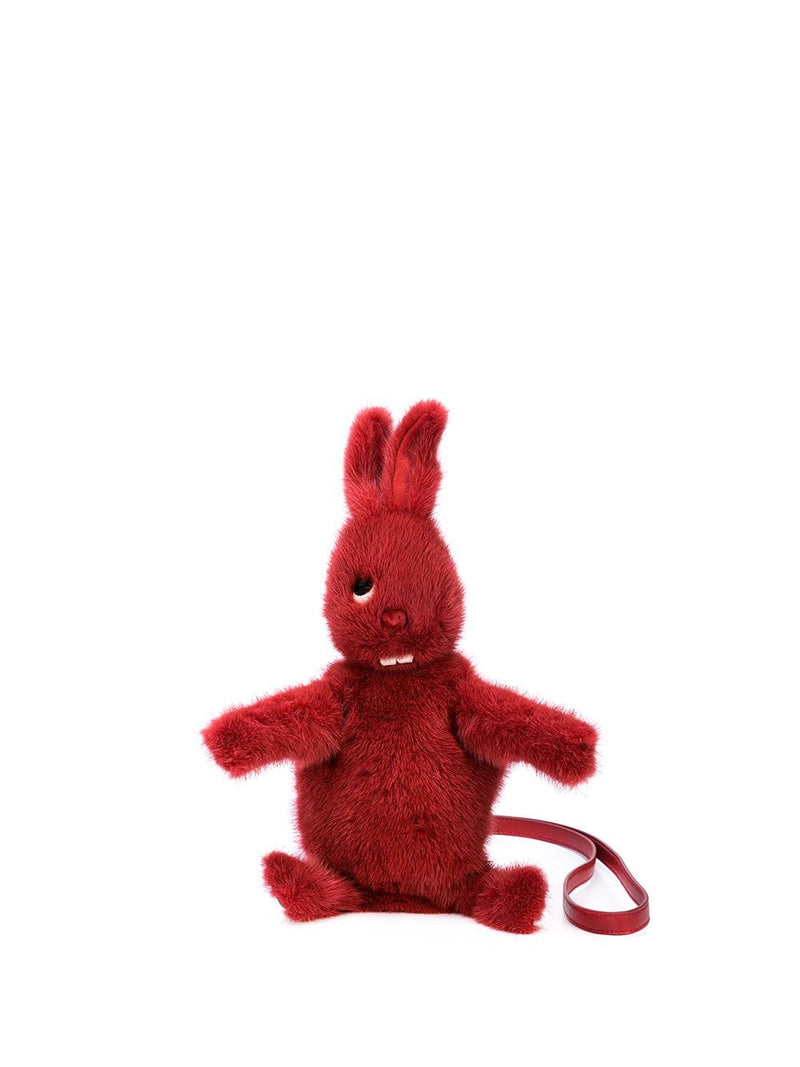 RICK OWENS LEATHER POCKET TOYS FAT BUNNY MINK