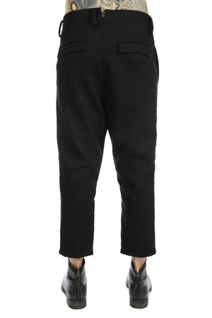 DEEPTI CROPPED LOW CROTCH TROUSERS