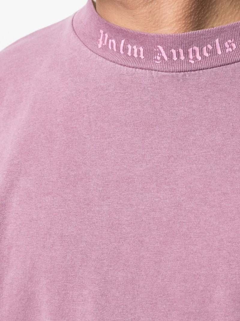 PALM ANGELS MEN GD CLASSIC LOGO OVER TEE