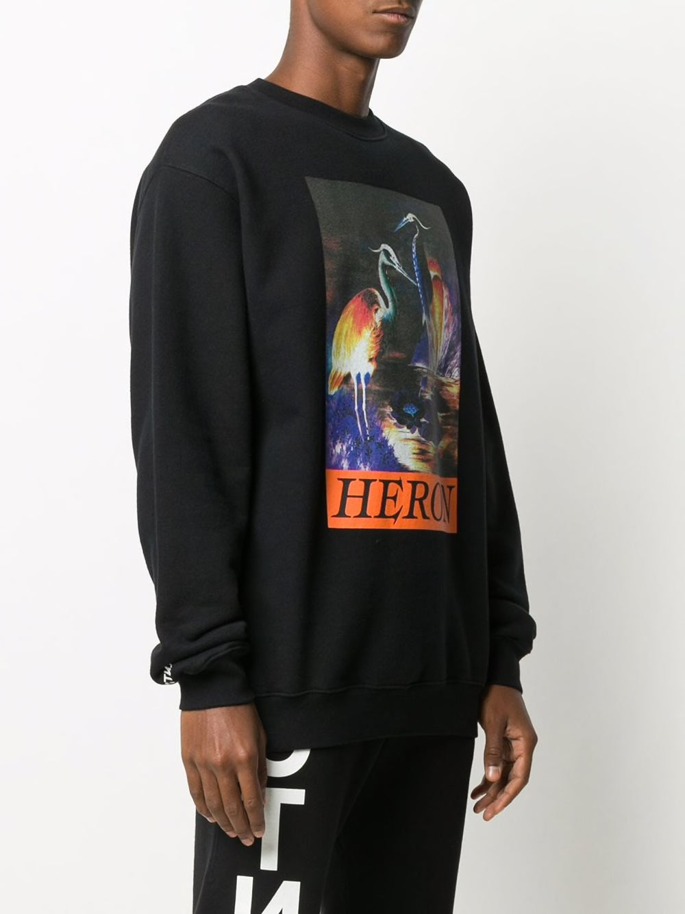 HERON PRESTON MEN CREWNECK OS HERON TIMES