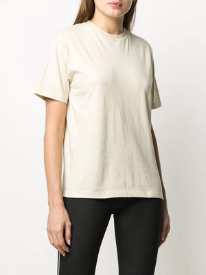 OFF-WHITE WOMEN OFFWHITE CASUAL TEE ECRU' ECRU'