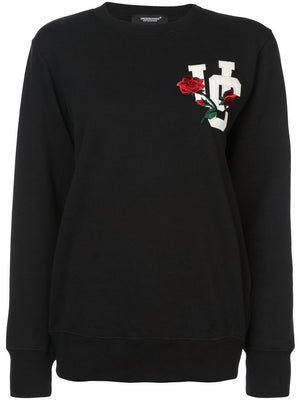 UNDERCOVER WOMEN ROSE UC LOGO PULLOVER