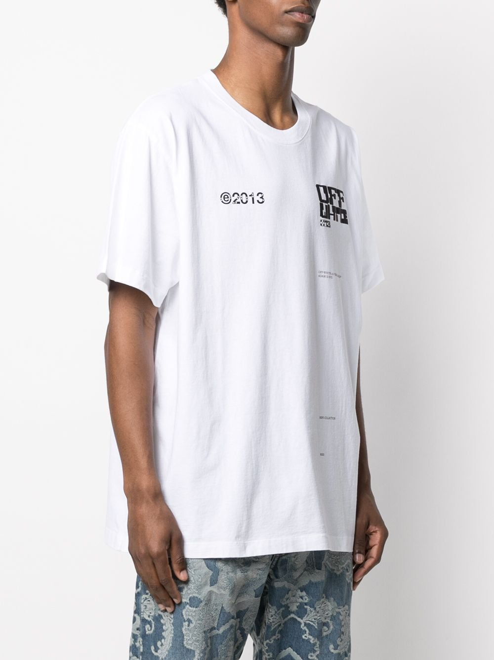 OFF-WHITE MEN TECH MARKER S/S OVER TEE
