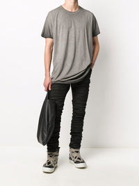 BORIS BIDJAN SABERI MEN P13 TIGHT FIT VINYL PROCESSED PANTS