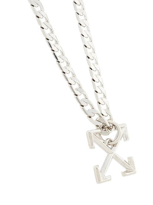 OFF-WHITE ARROW NECKLACE