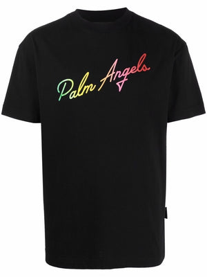 PALM ANGELS MEN MIAMI LOGO CLASSIC TEE