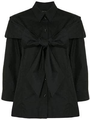 SIMONE ROCHA WOMEN BOW BOY SHIRT