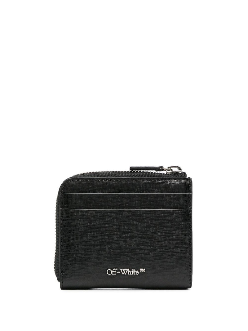 OFF-WHITE MEN DIAG WALLET