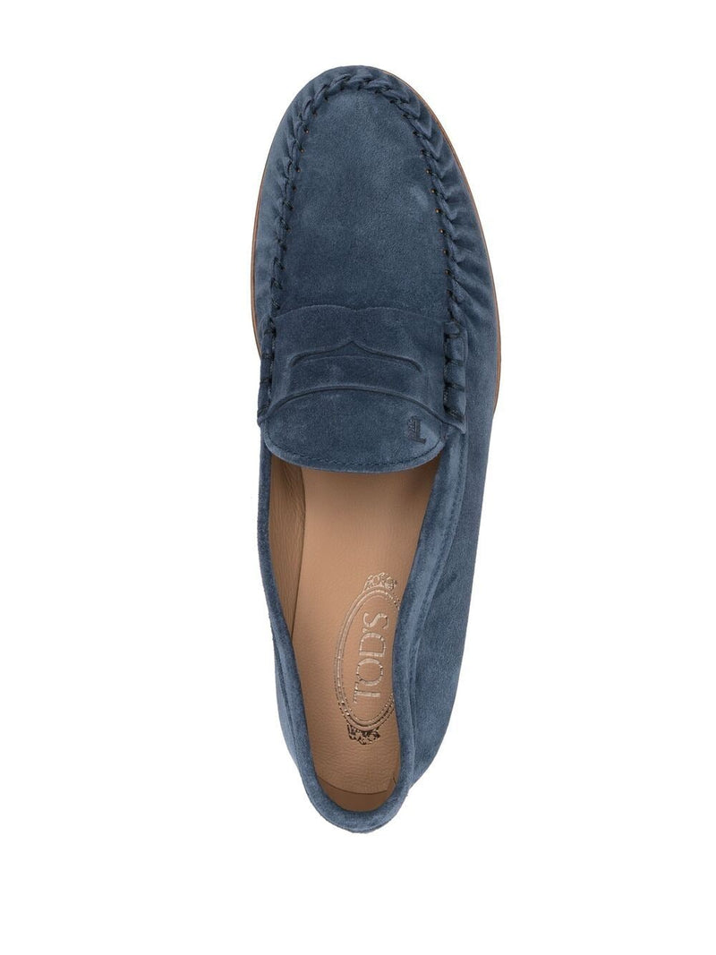 TOD'S MEN SUEDE MOCASSINO