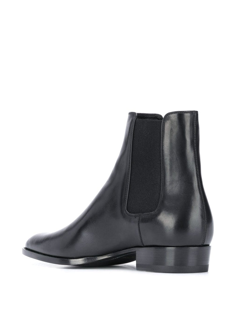SAINT LAURENT MEN WYATT CHELSEA BOOTS
