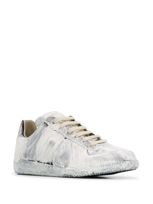 MAISON MARGIELA WOMEN PAINTED REPLICA SNEAKERS
