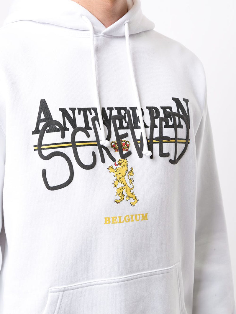 VETEMENTS UNISEX ANTWERP SCREWED HOODIE