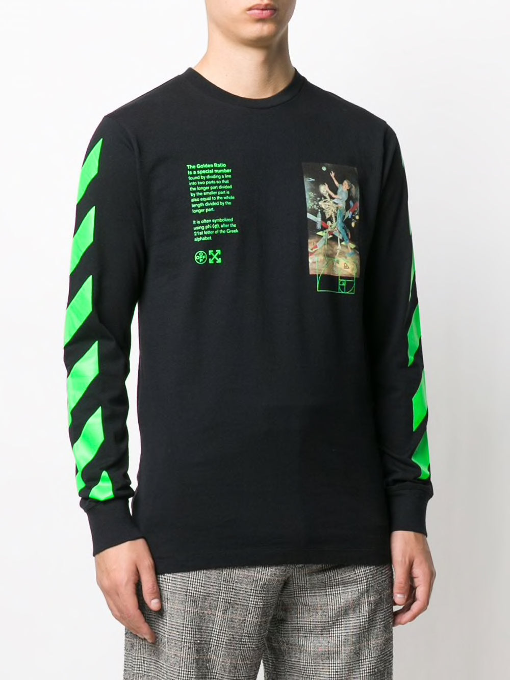 OFF WHITE MEN PASCAL PAINTING L/S TEE