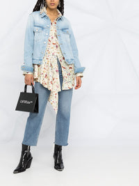OFF WHITE WOMEN ARROW LONG DENIM JACKET