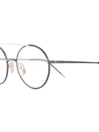 THOM BROWNE DITA EYEWEAR TB-108 BLACK IRON - 12K GOLD