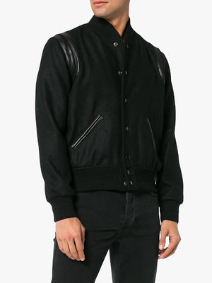 SAINT LAURENT MEN TEDDY JACKET