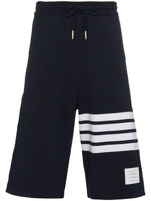 THOM BROWNE MEN CLASSIC SWEAT SHORTS WITH ENGINEERED 4 BAR STRIPES IN CLASSIC LOOP BACK