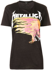 R13 WOMEN METALICA T-SHIRT