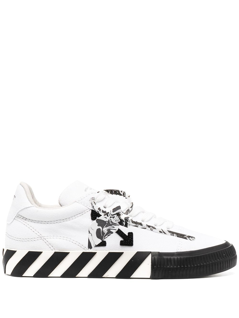 OFF-WHITE WOMEN LOW VULCANIZED CANVAS SNEAKER