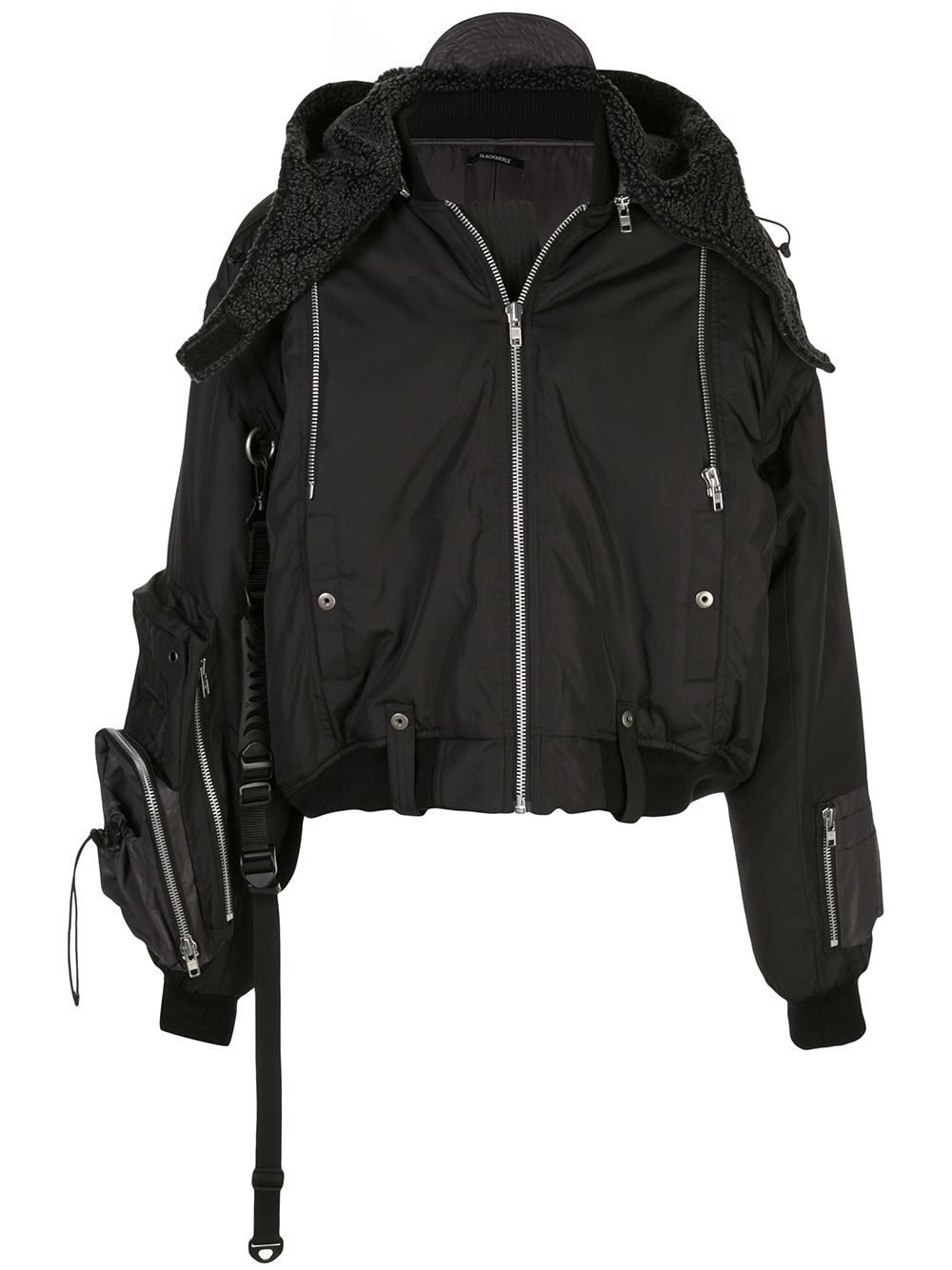 BLACKMERLE MEN TRANSFORMER MA-1 JACKET