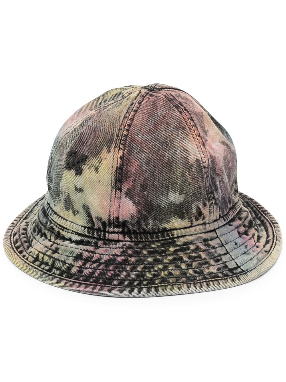 OFF-WHITE EV DENIM POCKET BUCKET HAT