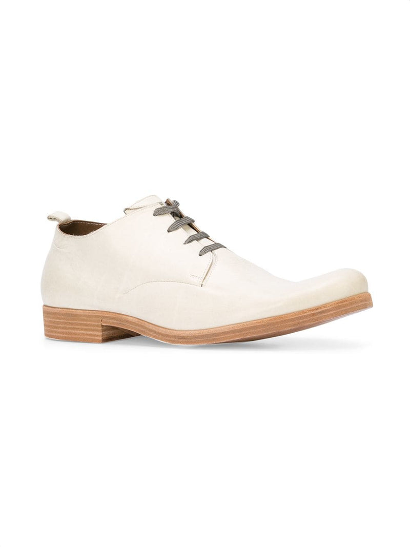 TAICHIMURAKAMI MEN VACCHETTA 14/15 LEATHER DERBY WITH ASYMMETRY SOLE