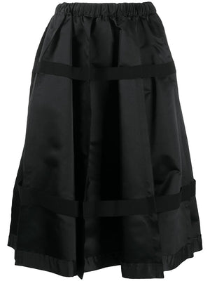 COMME DES GARCONS WOMEN PLEATED STRAP SKIRT