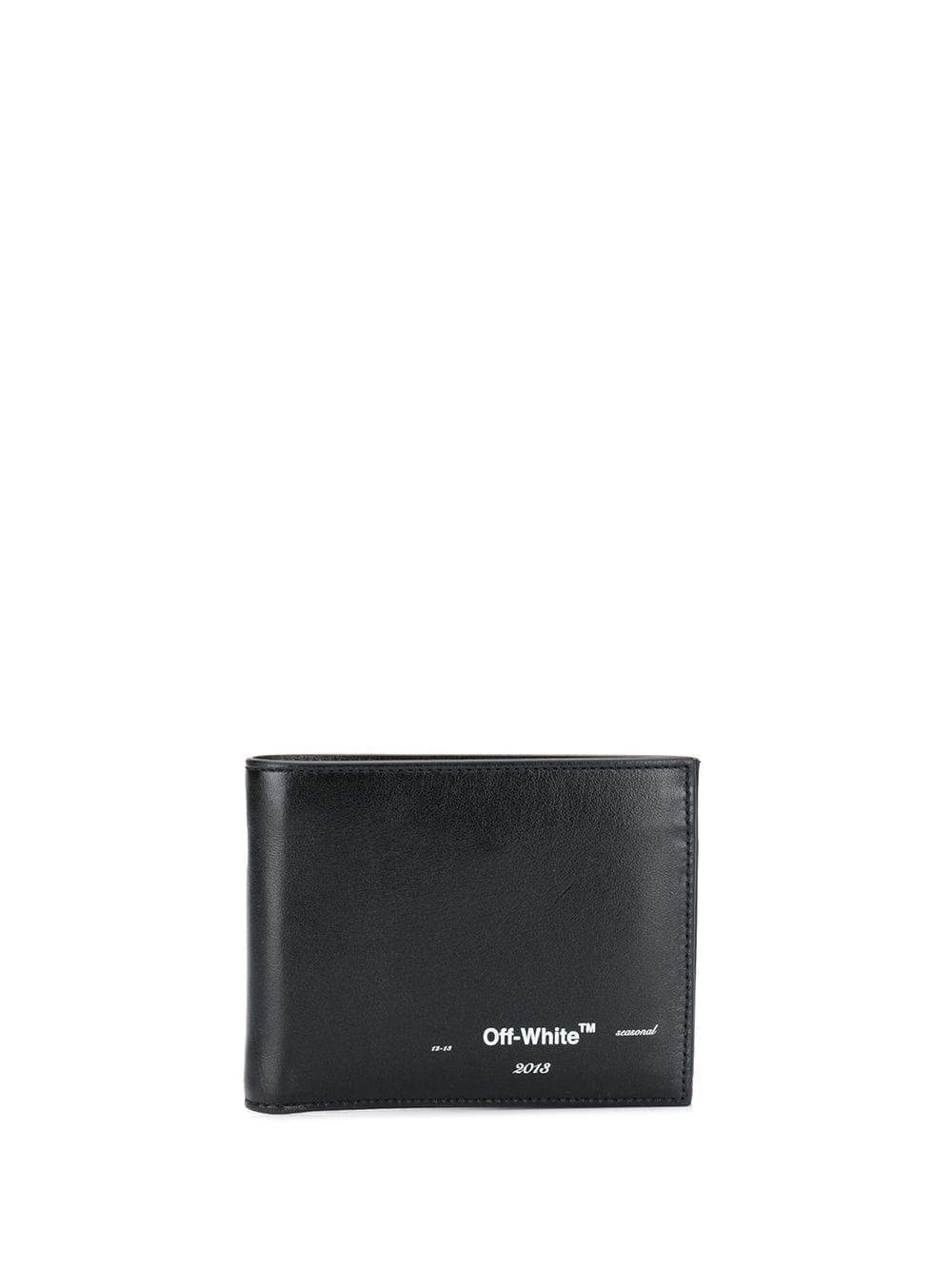 OFF-WHITE SEASONAL LOGO BIFOLD WALLET