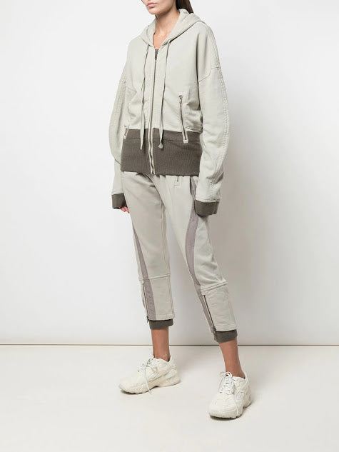 HAIDER ACKERMANN WOMEN PERTH HOODIE PERTH WITH RIBBING