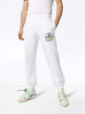 OFF-WHITE MEN TAPE ARROWS SHORT SWEATPANT