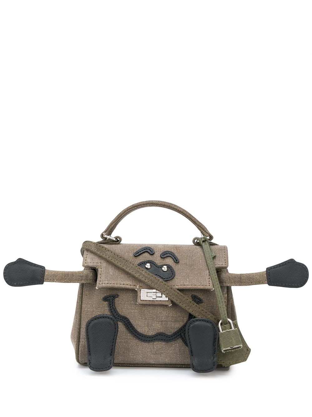 READYMADE VINTAGE ARMY TENT MINI MONSTER BAG