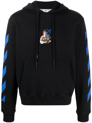 OFF-WHITE MEN CARAVAG BOY MARKER SLIM HOODIE