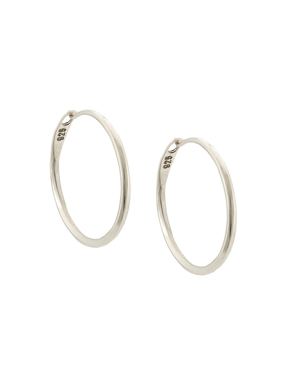 WERKSTATT MUNCHEN HOOP EARRINGS SUPER FINE M4501