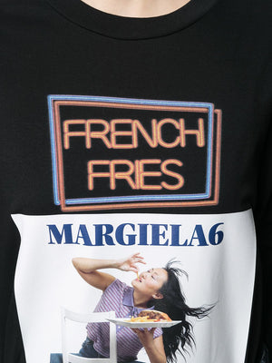 MM6 WOMEN FRENCH FRIES T-SHIRT