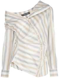Y/PROJECT WOMEN TWISTED SHIRT