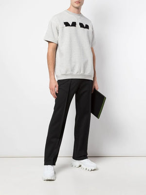 MAISON MARGIELA MEN PLEATED TRACK PANTS