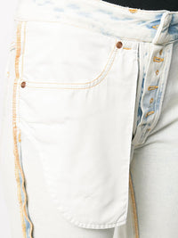 MM6 WOMEN WASHED REVERSED DENIM