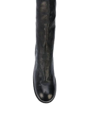 GUIDI WOMEN 7912Z SOFT HORSE LEATHER THIGH HIGH BOOTS